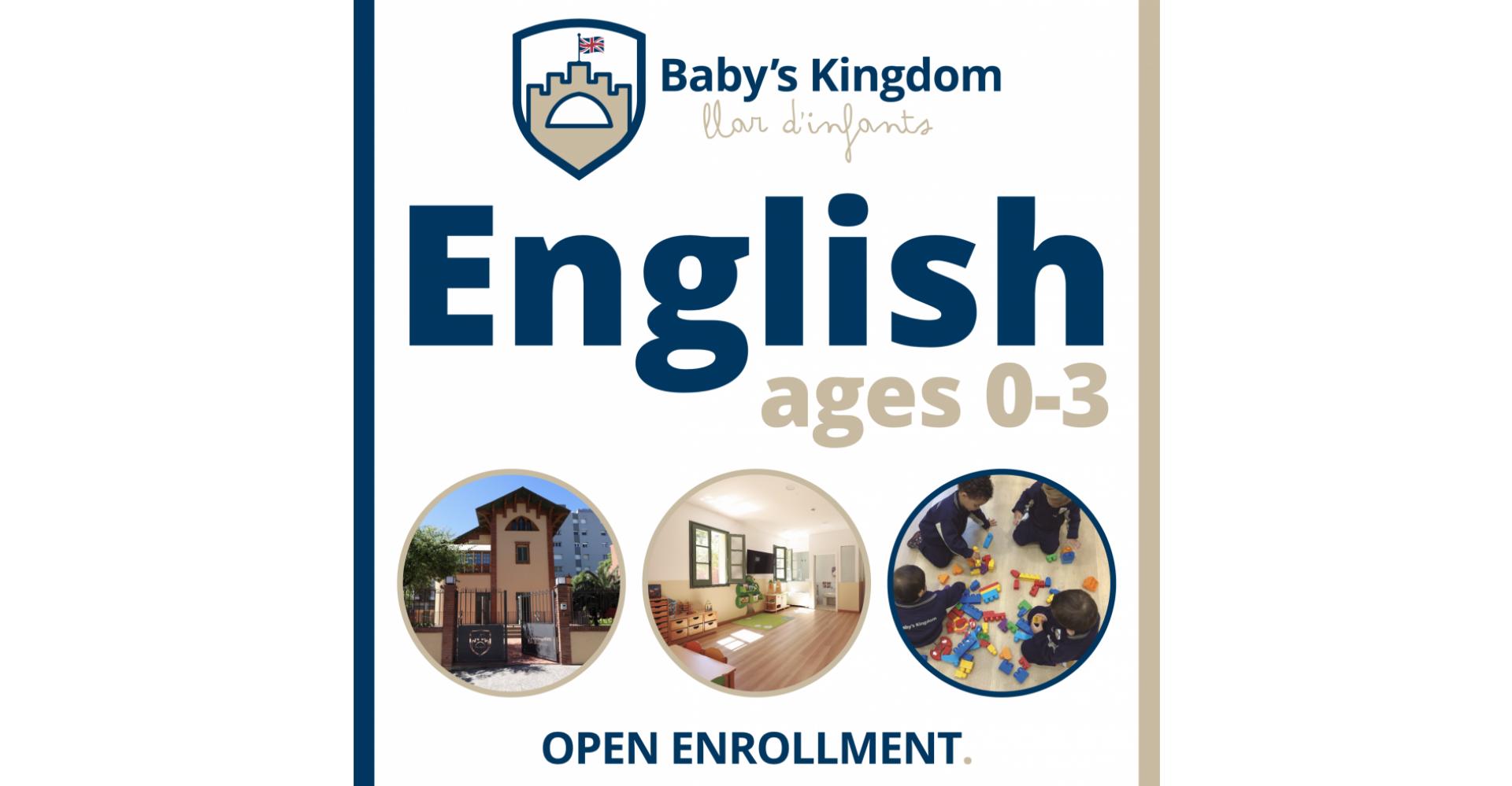 Campanya Promocional Nursery School 0-3 ages